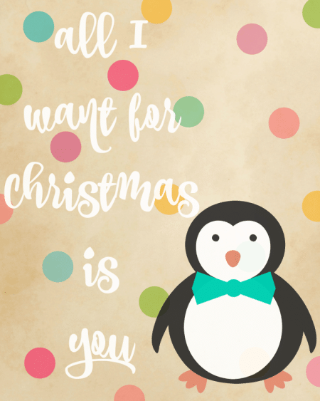 Christmas Printables from The Evolution of Mom