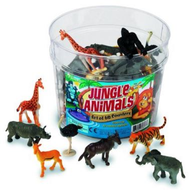 Tub of Jungle Animals | Recommendations for The Best Toys That Last The Longest (10+ years!) from a mom of big kids. These are the toys that are still going strong!