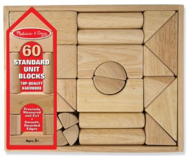 Melissa and Doug Standard Blocks   Recommendations for The Best Toys That Last The Longest (10+ years!) from a mom of big kids. These are the toys that are still going strong!