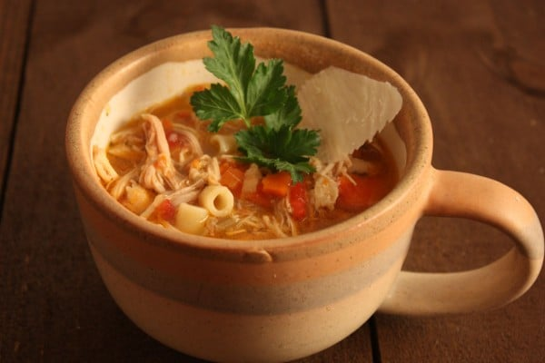Sicilian Chicken Noodle Soup from Don't Sweat the Recipe