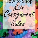 How to Shop Kids Consignment Sales