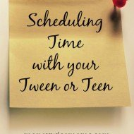Scheduling Time with your Tween or Teen (Movie Ticket Giveaway)