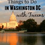 20 Free Things to do in Washington DC with Tweens