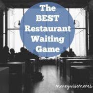 The Best Restaurant Waiting Game