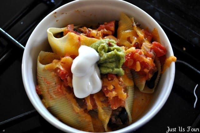 Taco Stuffed Shells from My Suburban Kitchen   Taco Tuesday recipes