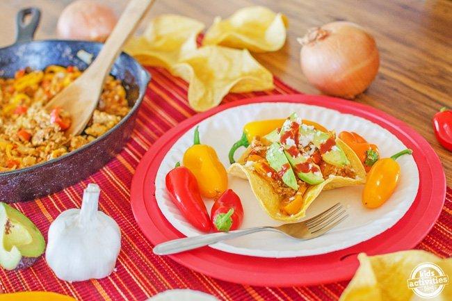 Breakfast Taco Bowls from Kids Activities Blog   Taco Tuesday recipes