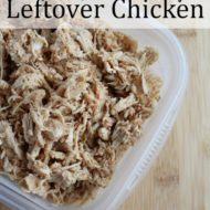 25 Ways to Use Up Leftover Chicken
