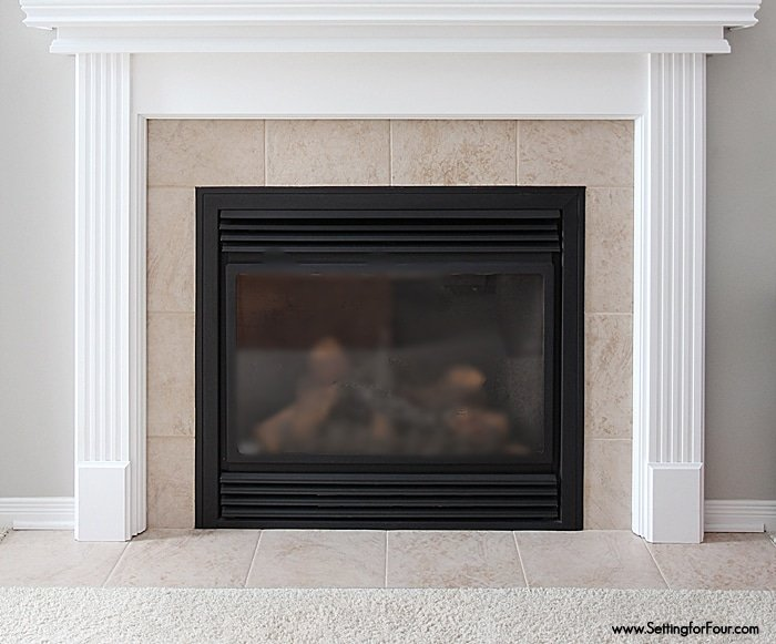 How To Update A Fireplace On A Budget Moneywise Moms