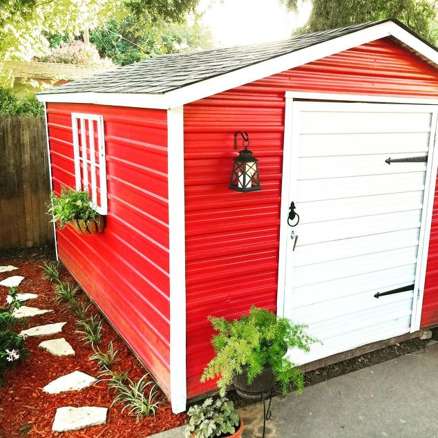 5 Ways To Update An Old Shed Moneywise Moms