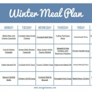 The Ultimate Winter Meal Plan