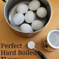 Perfect Hard Boiled Eggs {Tasty Tuesdays}