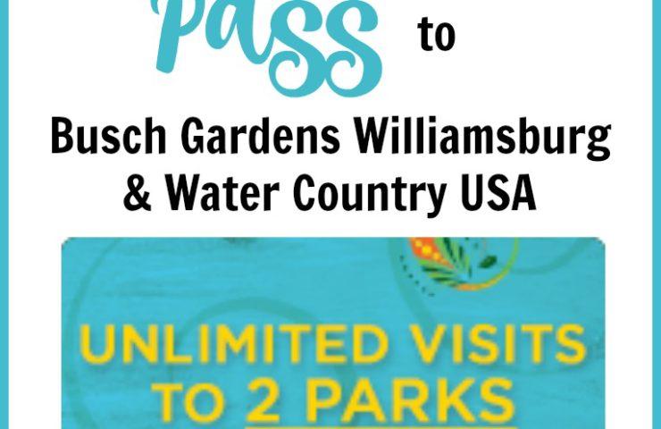 Free Busch Gardens Preschool Pass 2018