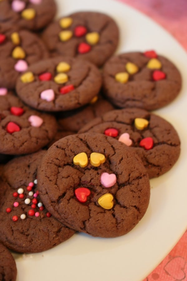 Valentine Cake Mix Cookies at It Is A Keeper