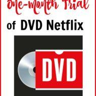 Free Trial of DVD Netflix