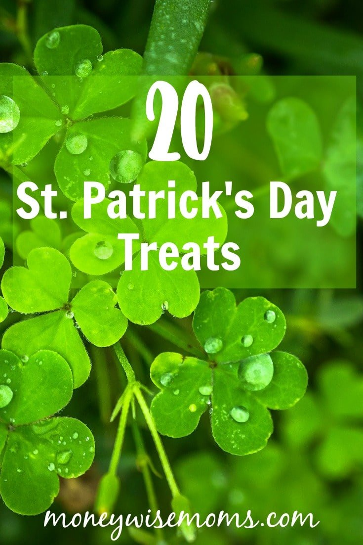 Celebrate St. Patrick's Day with green treats, mint chocolate, and rainbows. These easy recipes are fun to make and fun to eat!