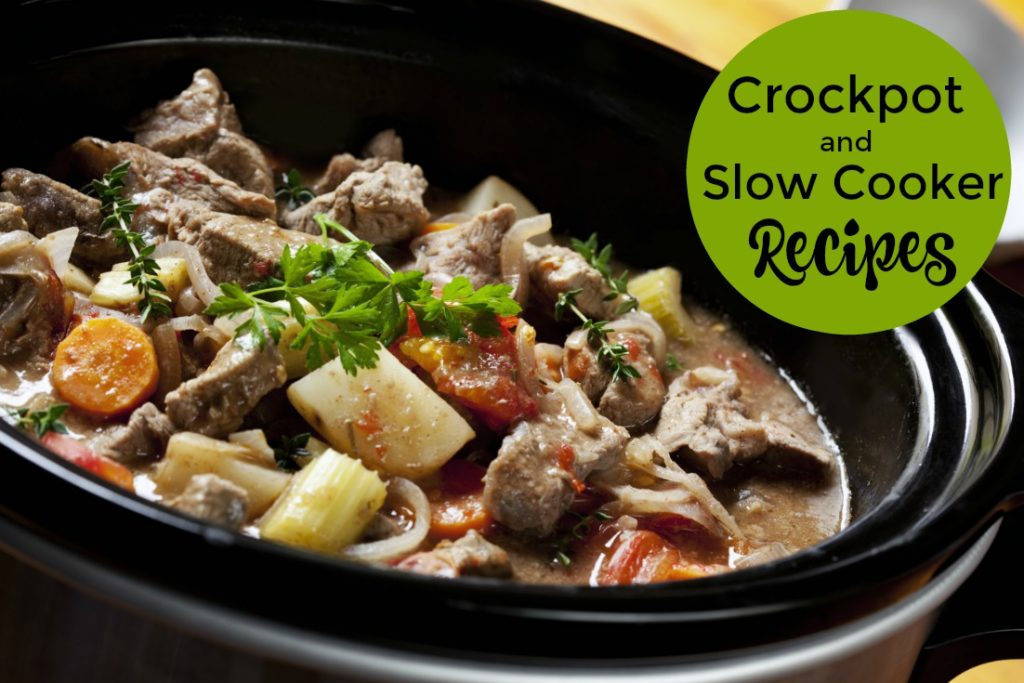 Crockpot and Slow Cooker Recipes - resources for meal planning and family dinners