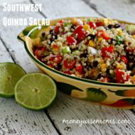 Southwest Quinoa Salad {Tasty Tuesdays}