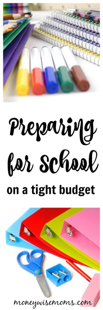 Back to School Shopping - tips to help you prepare for school on a tight budget