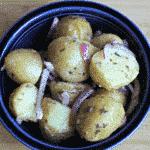 Simple Oil & Vinegar Potato Salad
