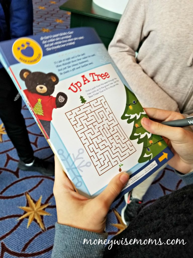 Build a Bear Scavenger Hunt - ICE! at Gaylord National - Christmas on the Potomac