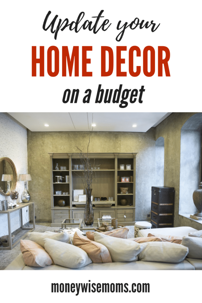 Updating home on a budget