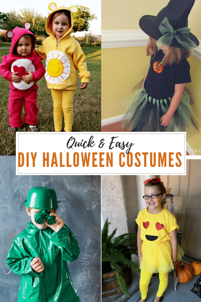 quick and easy diy halloween costumes for kids